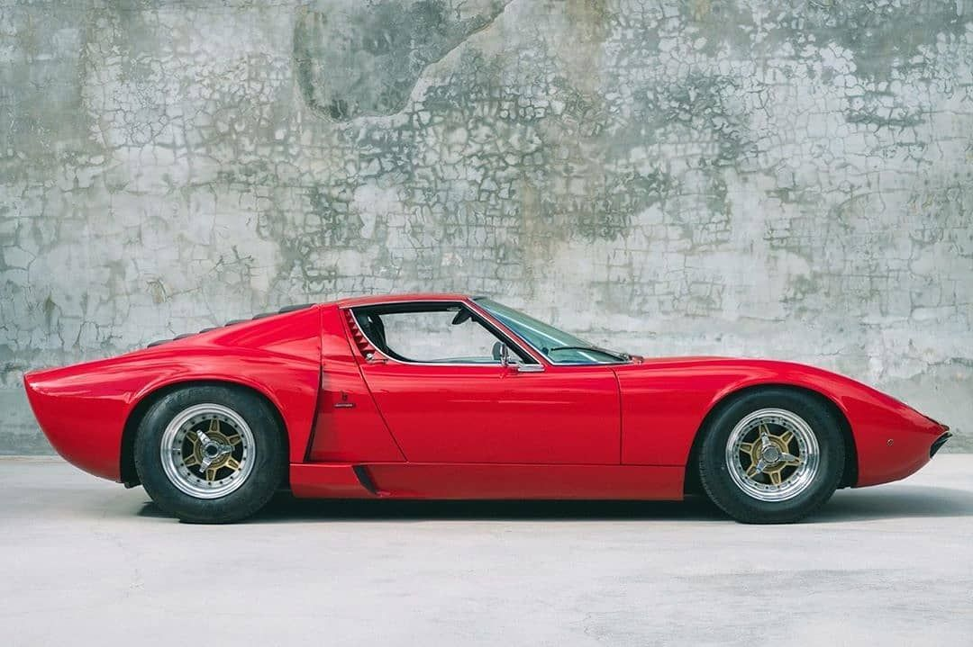 Eddie Van Halen's 1970 Lamborghini Miura, as sold by We Are Curated