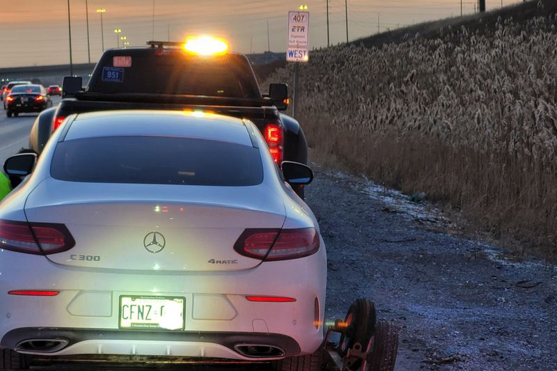 G2 driver caught speeding 177 km/h in Mercedes-Benz in southern Ontario