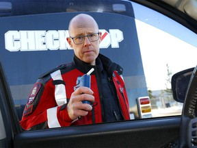 Calgary Police Service Cst. Dan Kurz as Alberta released new tough, swift penalties for impaired divers in Calgary on Tuesday, December 1, 2020.