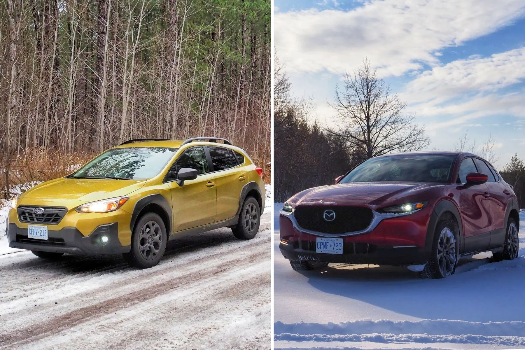 2021 Subaru Crosstrek vs. 2021 Mazda CX-30