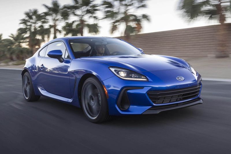 First Look: 2022 Subaru BRZ