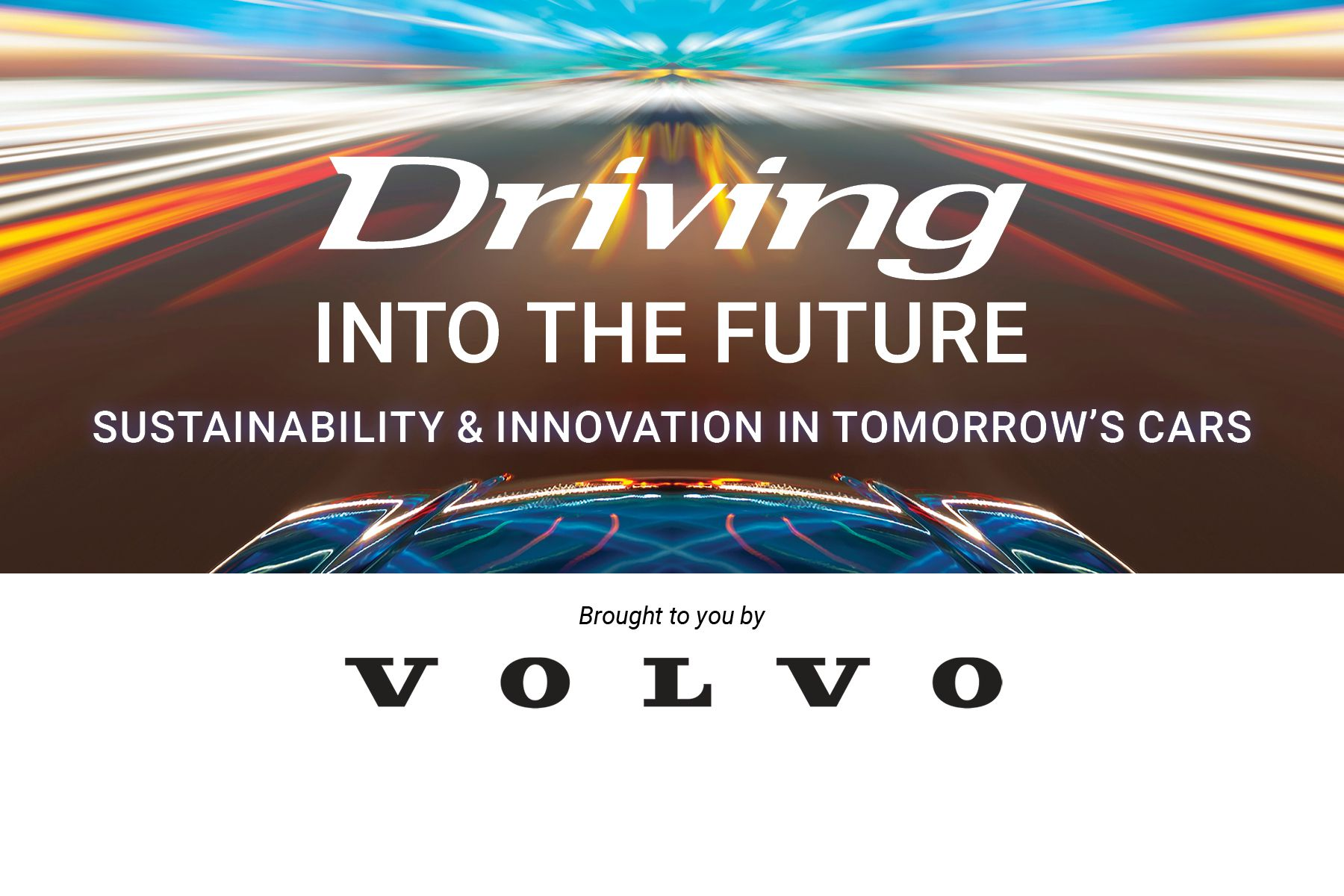 Driving into the Future: Sustainability and Innovation in tomorrow's cars