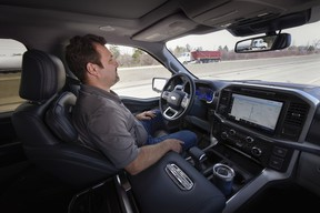 Ford BlueCruise hands-free technology