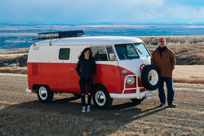 Sandy Williamson bought this 1964 Volkswagen in 1979, sold it in 1986, found it and bought it back in 2020. He and his daughter Lisa Williamson have been working on it, turning it back into a camper van.