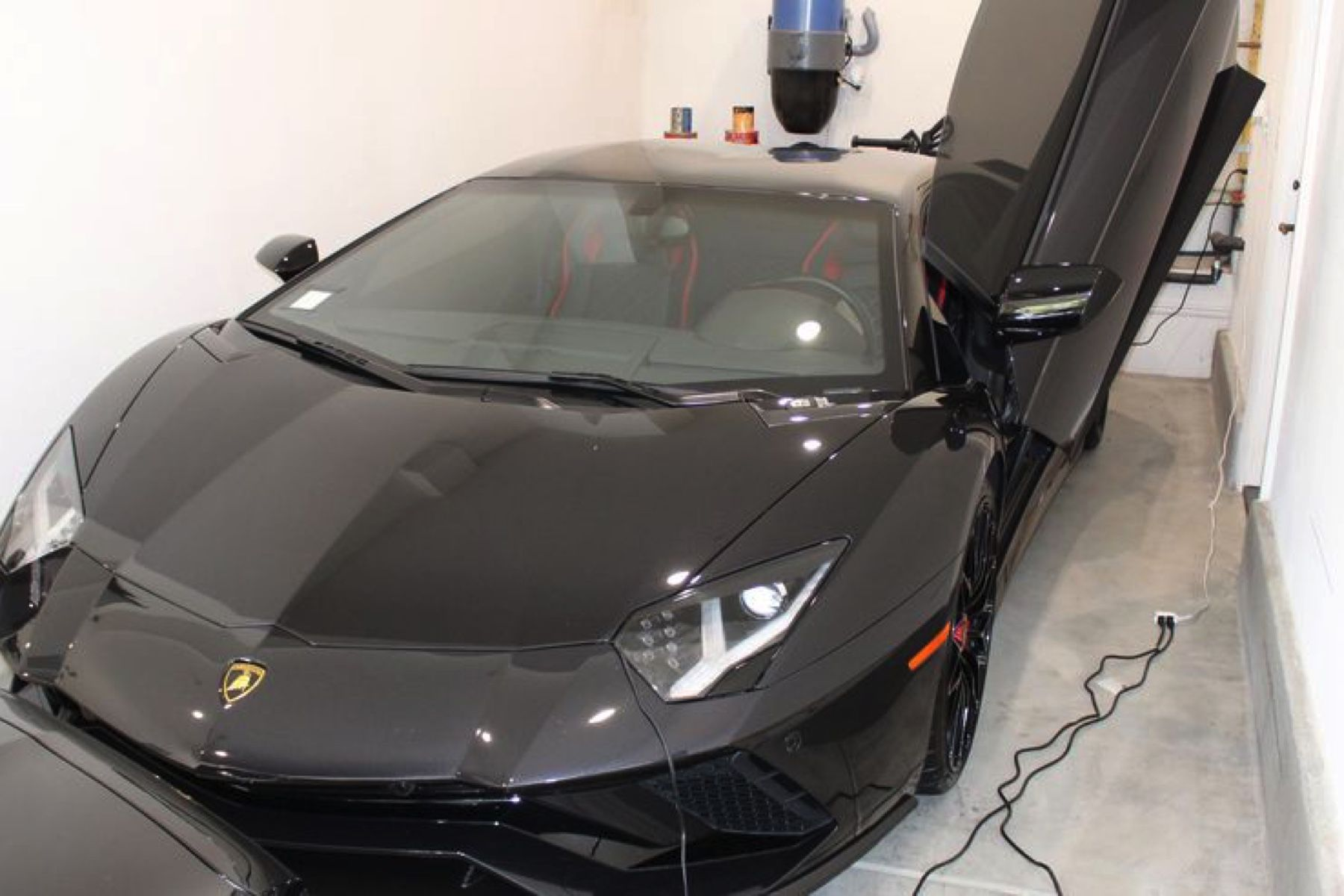 2018 Lamborghini Aventador S seized by US Attorney's Office