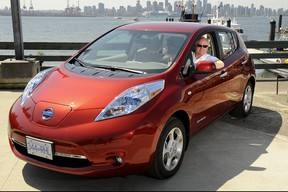 Plugged In host Andrew McCredie's own journey along the electric vehicle highway began in May of 2012 with a long term test of this first-gen Nissan Leaf.