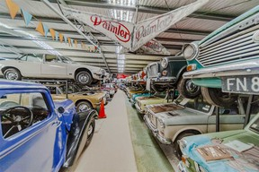 The British car museum formerly run by New Zealand's Ian Hope