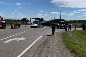Driver charged with distracted driving for filming crash scene