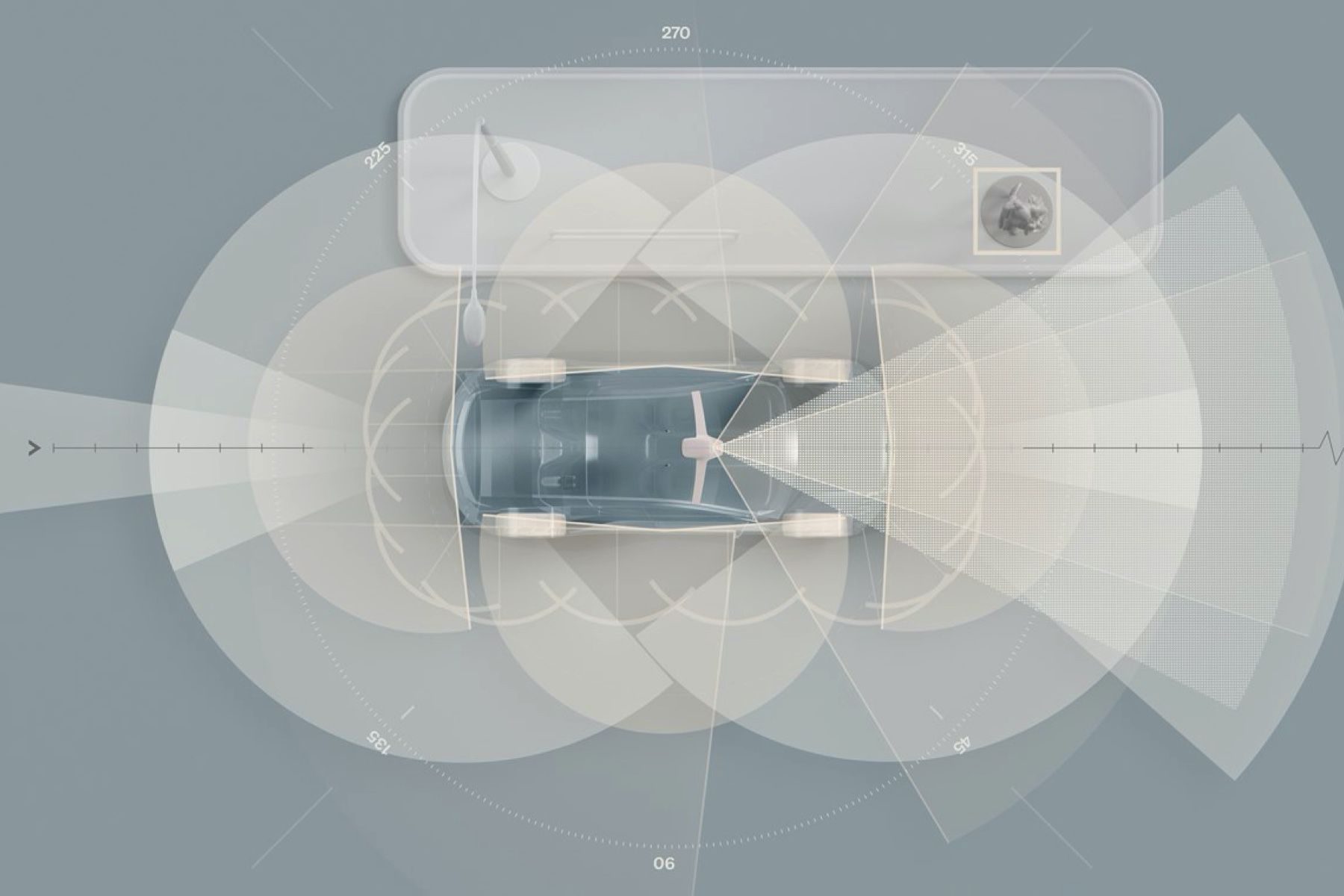 Volvo's upcoming electric XC90 with LiDAR as standard