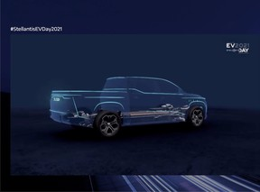 An all-electric Ram truck is planned for 2024
