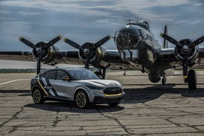 This one-off 2021 Ford Mustang Mach-E honours the volunteer female pilots of WWII - 1