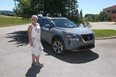 Pat English with the 2021 Nissan Rogue she tested out for a week in and around Calgary.