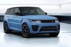 The 2022 Range Rover Sport SVR Ultimate Edition dazzles with sparkling paint