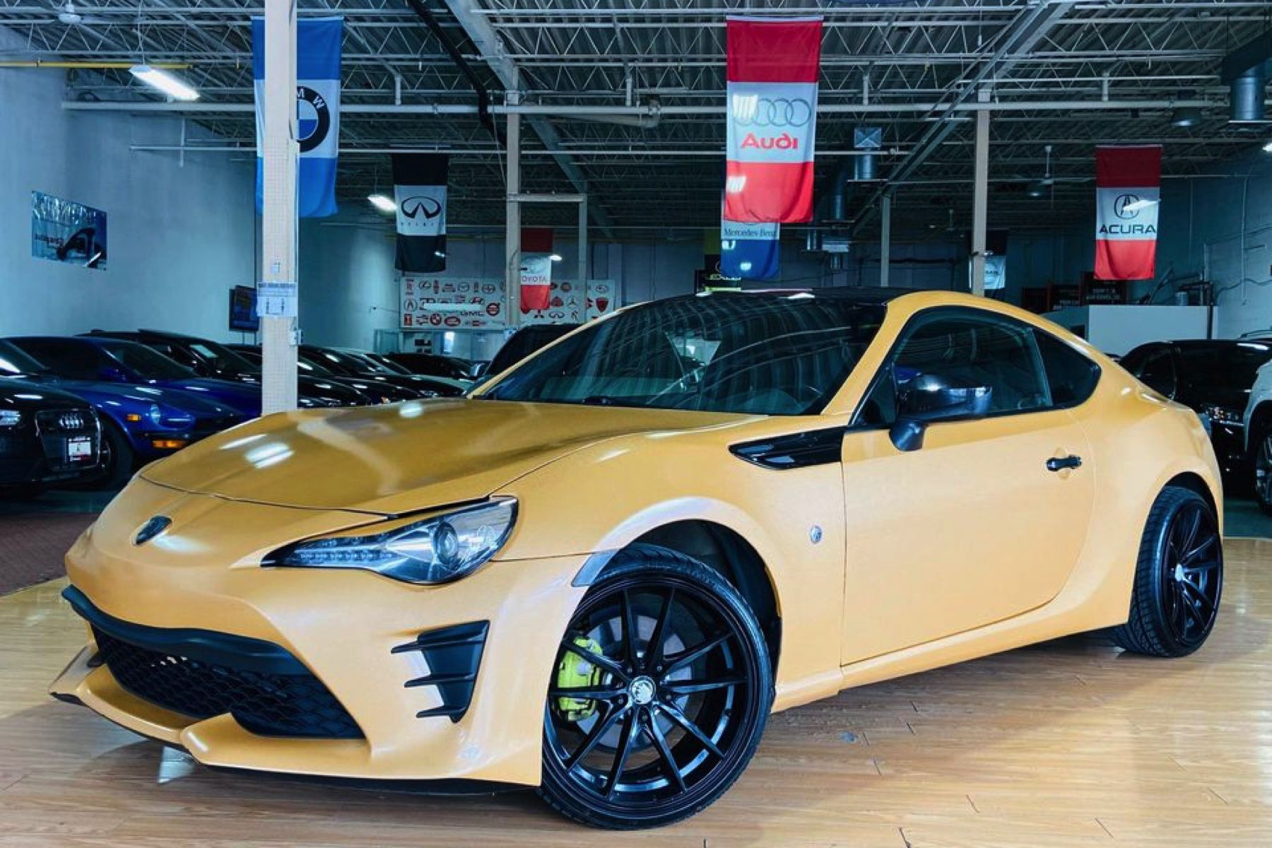 There's a Toyota 86 dressed as a Lamborghini for sale in Ontario on Marketplace