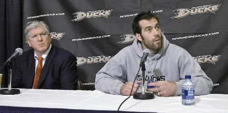Brian Burke and Todd Bertuzzi