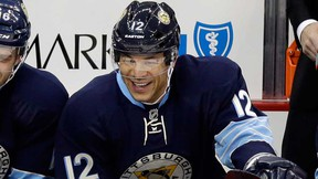 Newly acquired Pittsburgh Penguins winger Jarome Iginla.