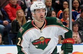 Minnesota Wild forward Cal Clutterbuck. Getty Images photo