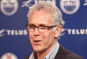 New Edmonton Oilers general manager Craig MacTavish has made frequent references to analytics in his short tenure at the helm of the team. (Photo: Greg Southam/Edmonton Journal)