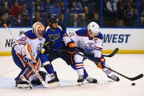 Goaltender Ben Scrivens and defender Andrew Ference were two key acquisitions by Edmonton Oilers GM Craig MacTavish