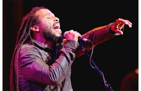 Ziggy Marley performs at the Winspear Centre in Edmonton September 30, 2014.