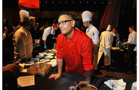 Chef Shane Chartrand of Sage restaurant at the Marriott River Cree will appear on Chopped Canada in March.