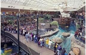 West Edmonton Mall.