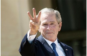 """Former U.S. president George W. Bush appears to fit the definition of """"useful idiot,"""" writes Cameron Fahlman."""