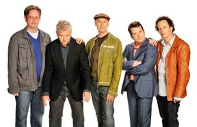 Kids in the Hall, with from left, Mark McKinney, Dave Foley, Scott Thompson, Bruce McCulloch and Kevin McDonald