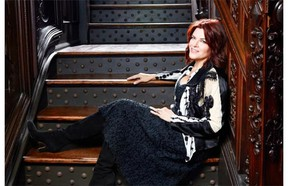 Rosanne Cash performs at the Winspear Centre on Sept. 25.