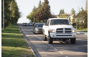 The city is starting a test this summer making 106th Street one-way northbound between 53rd Avenue and 56th Avenue, to reduce short-cutting and speeding.