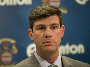 Mayor Don Iveson is angry with federal inaction over the looming crisis in affordable housing in Edmonton.