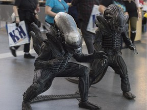 The Edmonton Comic and Entertainment Expo continues Sunday at the Edmonton Expo Centre.