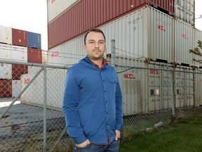 Boris Javorski is an Edmonton entrepreneur who is having a new hotel built in Bruderheim constructed almost entirely from shipping containers.