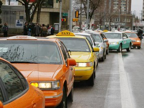 Edmonton Taxi Service Group includes Yellow, Barrel, Prestige and Checker taxis.
