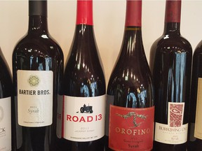 Some of the best B.C. Syrah-based wines available here in Alberta