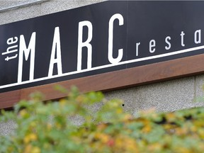 The Marc, a restaurant by restaurateur Patrick Saurette and his wife Doris at 9940 - 106 St. in Edmonton, October 4, 2010.