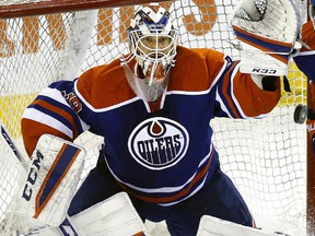 Anders Nilsson starts Friday night  for the Oilers — his fourth start in the past five games