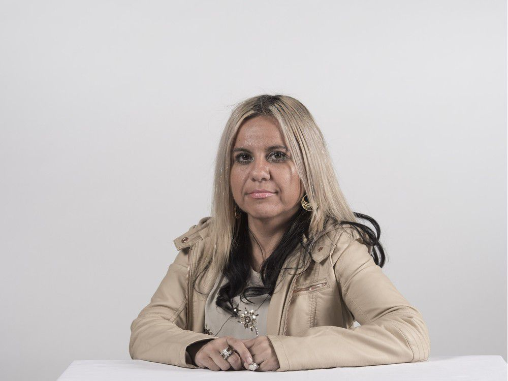 Angelica Rojas, 42: Facilitator and group therapist at Edmonton Family Violence Centre