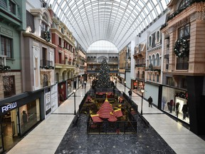 The Europa Boulevard section of West Edmonton Mall will be redeveloped in 2017 into a luxury wing, with new high-end retailers.