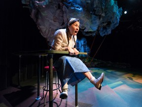 Tiffany Ayalik stars in  Cafe Daughter by Kenneth T. Williams, opening the Workshop West season at The  Backstage Theatre.