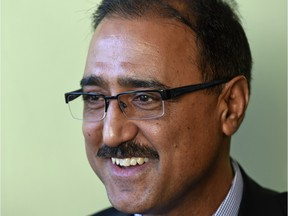 Amarjeet Sohi, former city councillor turned federal minister of infrastructure.