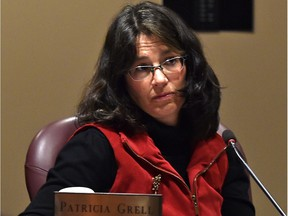 Patricia Grell won't be running for school trustee on the Edmonton Catholic school board in the Oct. 16, 2017 election.