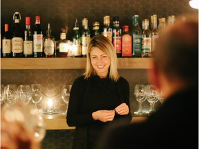 Valentina Abbona, whose family owns the Marchesi di Barolo winery in Italy, was in town last week and hosted an event at Bar Bricco.