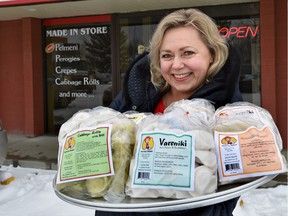 Marina Medvedeva owns Marina's Cuisine, a north side shop that specializes in Russian foods.