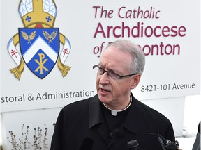Edmonton Archbishop Richard Smith