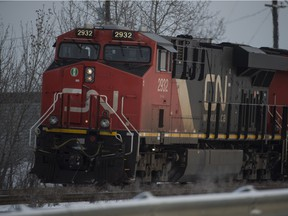 The Transportation Safety Board of Canada is investigating a collision between a CN train and a work truck near Jasper.