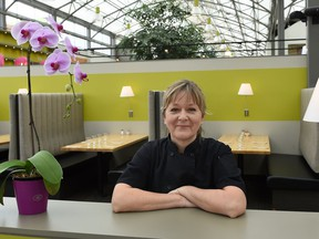 Chef Julia Kundera is the new chef at Holts Cafe.