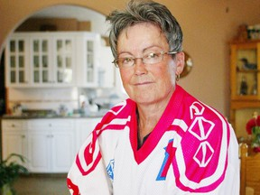 Shirley Cameron shown here in a 2005 portrait, will be inducted into the Alberta Sports Hall of Fame on Friday in Red Deer.