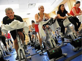Spin classes can be highly motivating, pushing you beyond what you would do on your own.
