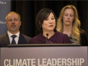 Alberta Environment Minister Shannon Phillips announces that the government is looking at supporting the province's first utility-scale solar project to meet its power needs.
